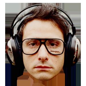 Adrock Sticker Music Fan